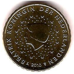 Países Bajos. 2010. 10 Céntimos (SC)