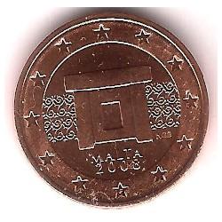 Malta. 2008. 2 Céntimos (SC)