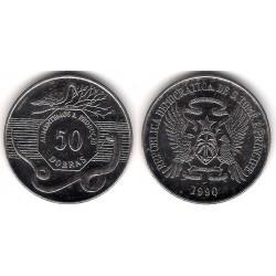 (52) Santo Tomé y Principe. 1990. 50 Dobras (EBC+)