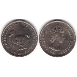 (38) Mauricio. 1991. 10 Rupees (SC)