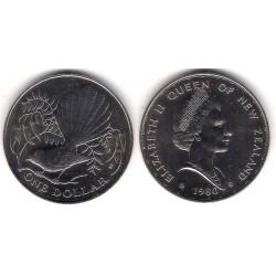 (49) Nueva Zelanda. 1980. 1 Dollar (SC)