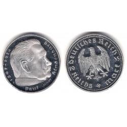 Medalla Reproducción Reich Mark (Proof) (Plata)