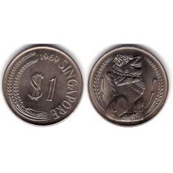 (6) Singapur. 1969. 1 Dollar (SC)