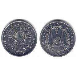 (20) Djibouti. 1996. 1 Franc (SC)