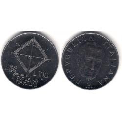 (102) Italia. 1974. 100 Lira (SC-)