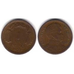 (179) Chile. 1953. 1 Peso (MBC+)