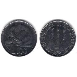 (46) San Marino. 1975. 100 Lira (SC)