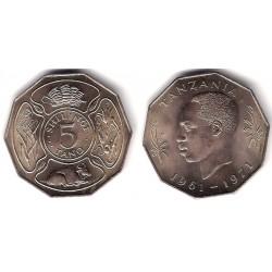 (5) Tanzania. 1971. 5 Tano (SC)