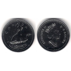 (183) Canadá. 1994. 10 Cents (Proof)