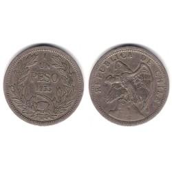 (176.1) Chile. 1933. 1 Peso (MBC)
