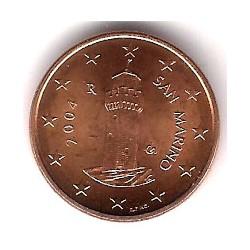 San Marino. 2004. 1 Céntimo (SC)