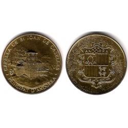 Medalla Andorra . Capella de Sant Joan de Caselles
