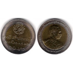 Tailandia. 1997. 10 Baht (SC)