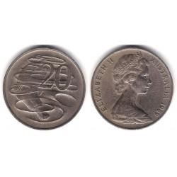 (66) Australia. 1966. 20 Cents (MBC-)