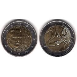 Luxemburgo. 2008. 2 Euro (SC) Descentrada en reverso