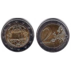 Alemania. 2007(D). 2 Euro (MBC) Exceso de Metal en Fecha