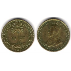 (12a) Africa del Oeste Británica. 1923. 1 Shilling (MBC+)
