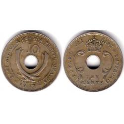 (2) Africa Oriental. 1907. 10 Cent (MBC)