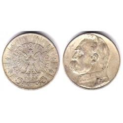 (Y28) Polonia. 1935. 5 Zlotych (MBC+) (Plata)