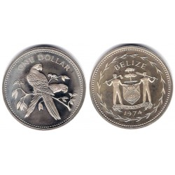 (43) Belice. 1974. 1 Dollar (SC)