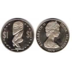 (7a) Islas Cook. 1978. 1 Dollar (SC)