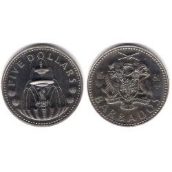 (16) Barbados. 1981. 5 Dollars (Proof)