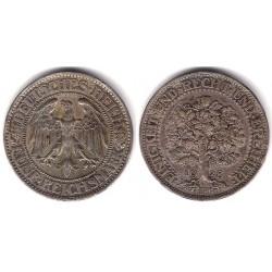 (56) Imperio Aleman (Weimar). 1928. 5 Mark (MBC+) (Plata)