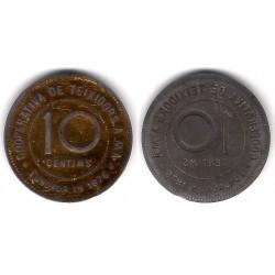 Cooperativa de Teixidors A. MA.  5 Céntimos (MBC)