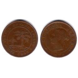 (4) Canadá. Prince Edward Island. 1871. 1 Cent (MBC+)