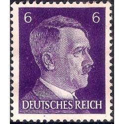(510) Imperio Alemán (III Reich). 1941-44. 6 Pfennig (Nuevo, con marca de fijasellos)