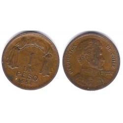 (179) Chile. 1954. 1 Peso (BC)