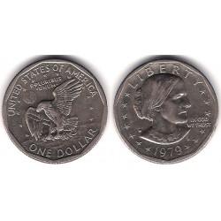 (207) Estados Unidos de América. 1979(D). 1 Dollar (MBC)