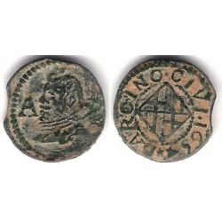 Felipe IV. 1654. Ardite (BC+) Ceca de Barcelona AR