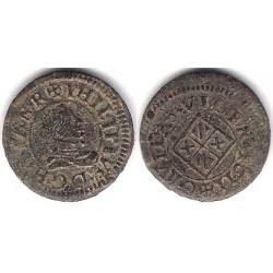 Felipe III. 1611. Dinero (MBC) Ceca de Vic