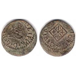 Felipe III. 1611. Dinero (BC) Ceca de Vic