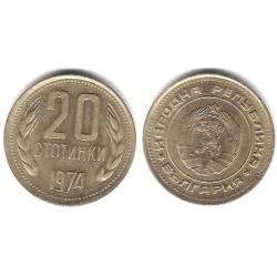 (88) Bulgaria. 1974. 20 Stotinki (EBC+)