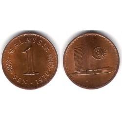 (1a) Malasia. 1976. 1 Sen (MBC+)