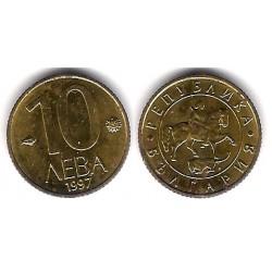 (224) Bulgaria. 1997. 10 Leva (EBC+)