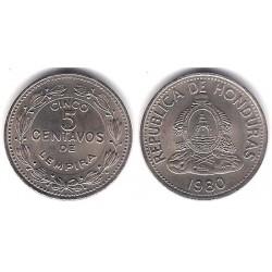 (72.2) Honduras. 1980. 5 Centimos (SC)