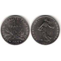 (925.1) Francia. 1999. 1 Franc (MBC+)