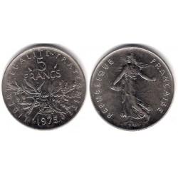 (926a.1) Francia. 1975. 5 Francs (MBC+)