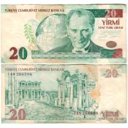 (219) Turquia. 2005. 20 Lira (MBC-)