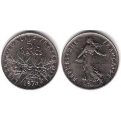 (916a.1) Francia. 1973. 5 Francs (MBC+)