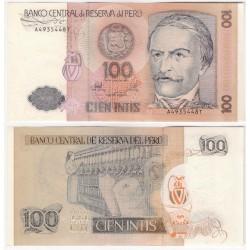 (133) Perú. 1987. 100 Intis (EBC+)