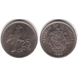 (49.1) Seychelles. 1982. 25 Cents (SC)