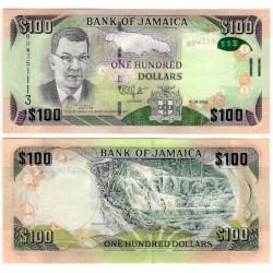 (95c) Jamaica. 2016. 100 Dollars (SC)