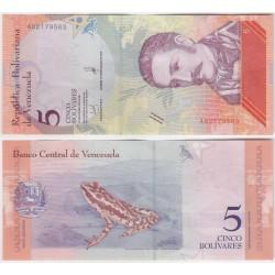 (102) Venezuela. 2018. 5 Bolivares (MBC)