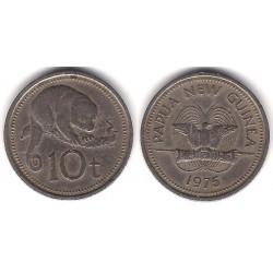 (4) Papua Nueva Guinea. 1975. 10 Toea (BC+)