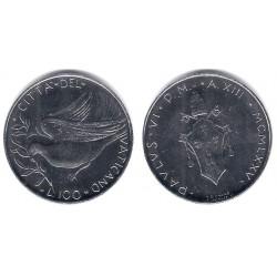 (122) Ciudad del Vaticano. 1975. 100 Lira (SC)