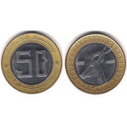 (126) Algeria. 1992. 50 Dinars (SC)